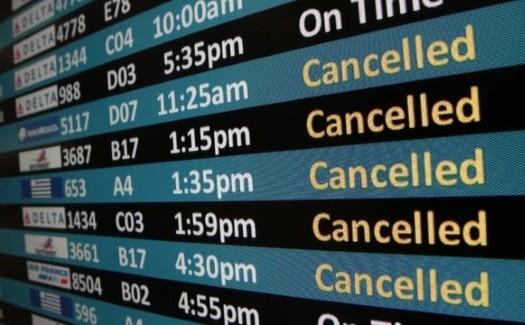 cancelled flights 230116 13 mil americanos estão presos no exterior devido ao coronavírus