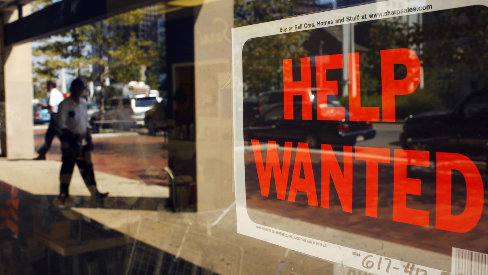 us jobs hiring help wanted Pedidos de auxílio desemprego aumentam 1.500% em NJ