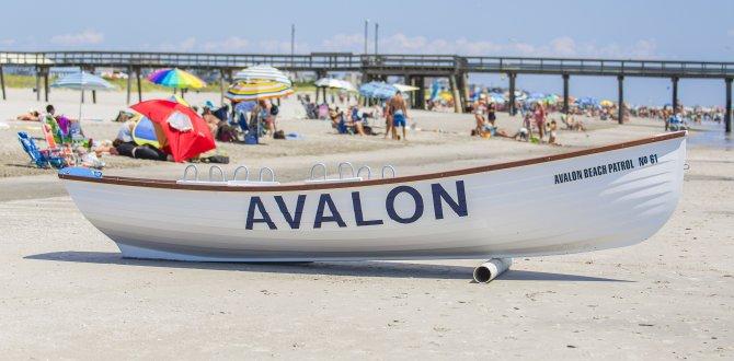Avalon Boat Mais quatro cidades fecham praias e calçadões no litoral de NJ