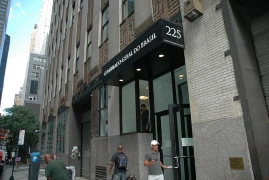 """Consulado adota """"regime de plantão emergencial"""" em NYC"""