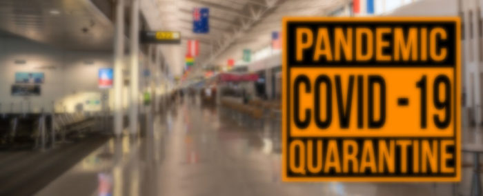 Covid 19 Coronavírus: Estudantes e turistas brasileiros têm que estender estadia nos EUA