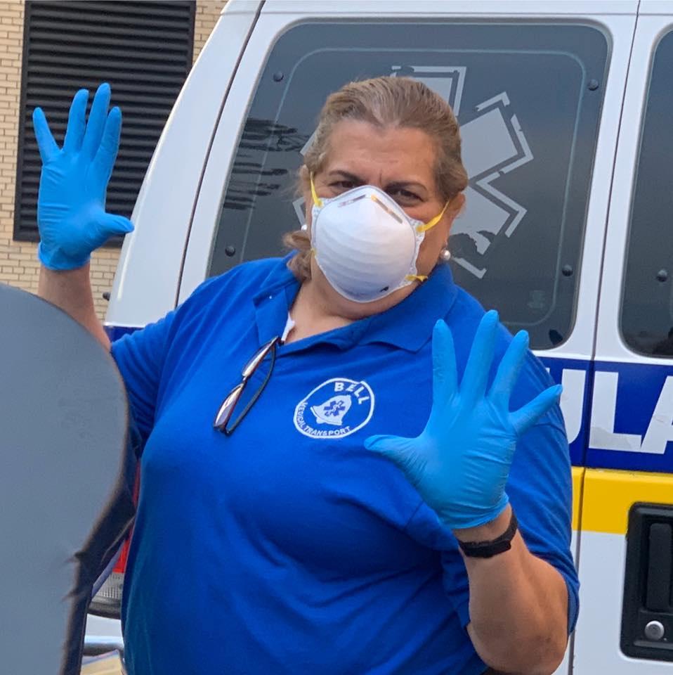 Foto3 Liana Sa Paramédica brasileira é mais uma vítima fatal do coronavírus em Newark (NJ)