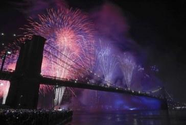Blasio manterá queima de fogos em July 4th em New York City