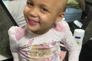 Brasileirinha luta contra leucemia aguda em New Jersey