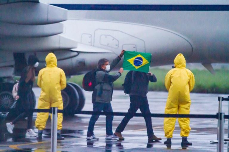 %name Itamaraty mantém repatriação de brasileiros no exterior durante pandemia