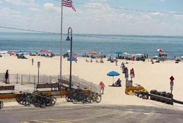 Praias abrirão com restrições em New Jersey