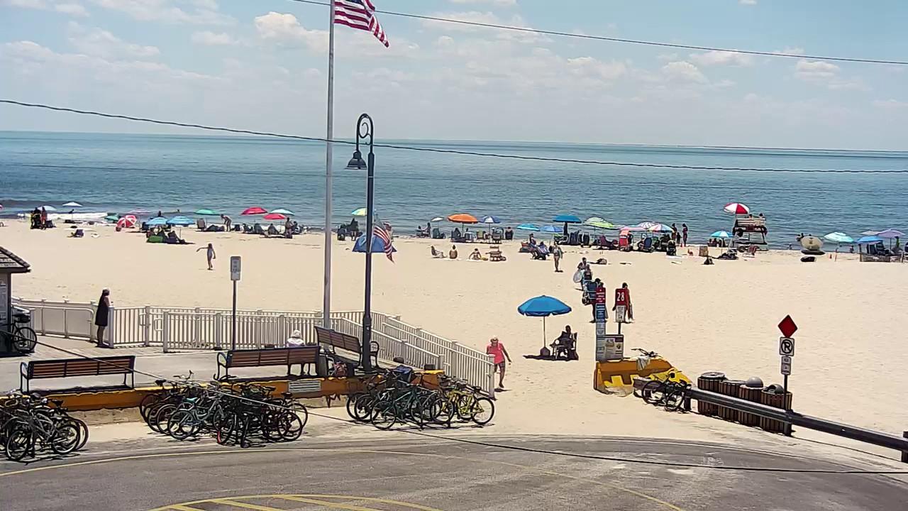 Cape May  Praias abrirão com restrições em New Jersey