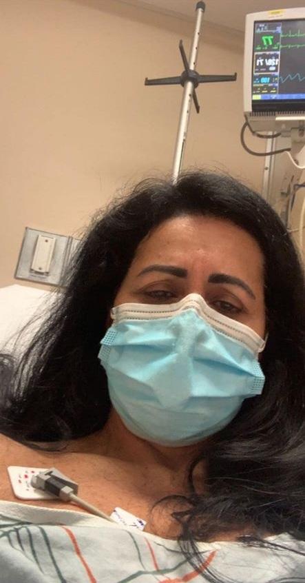 Euzira Luzia Pancieri Brasileira luta contra o coronavírus em New Jersey