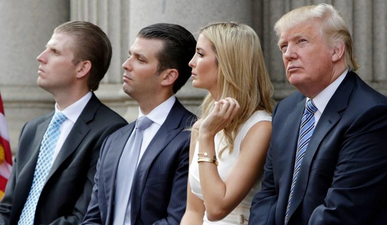 Familia Trump Juiz permite que processo por fraude contra Trump, família e empresa prossiga