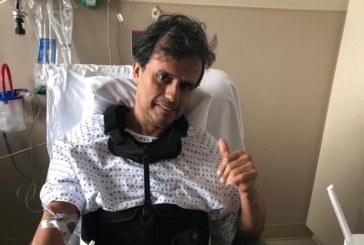 Brasileiro luta contra câncer raro na Virgínia