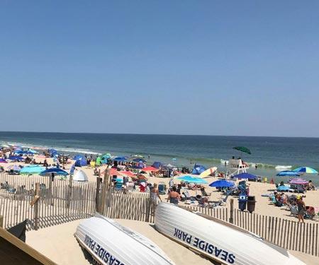 Seaside Park Beach Nova York e New Jersey abrem algumas praias no feriado do Memorial Day