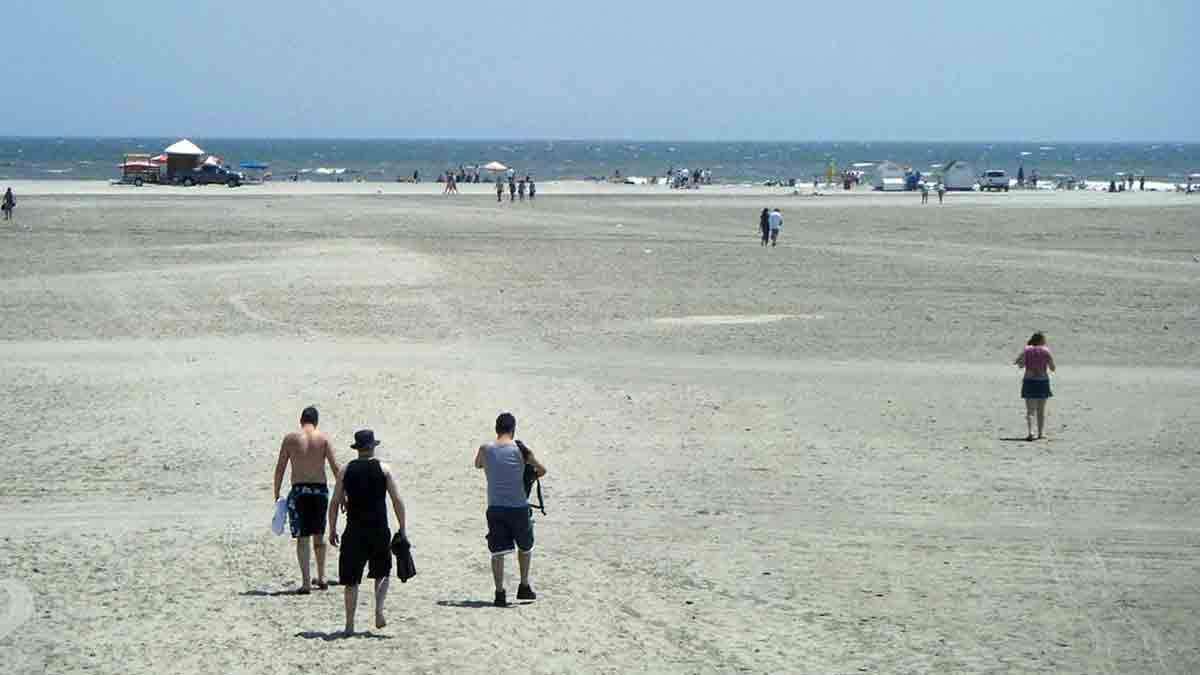 Wildwood Beach Murphy autoriza aglomerações de até 25 pessoas em NJ