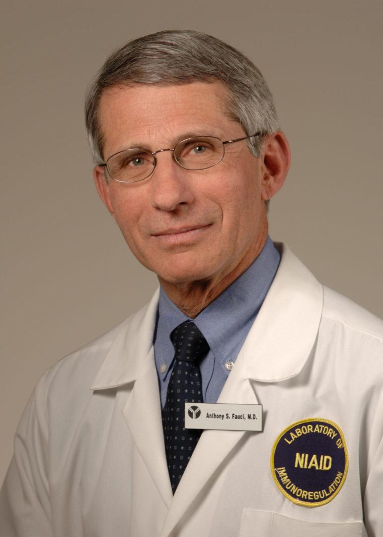 Anthony Fauci  scaled Casa Branca diz que vacina contra o coronavírus estará disponível em 2021