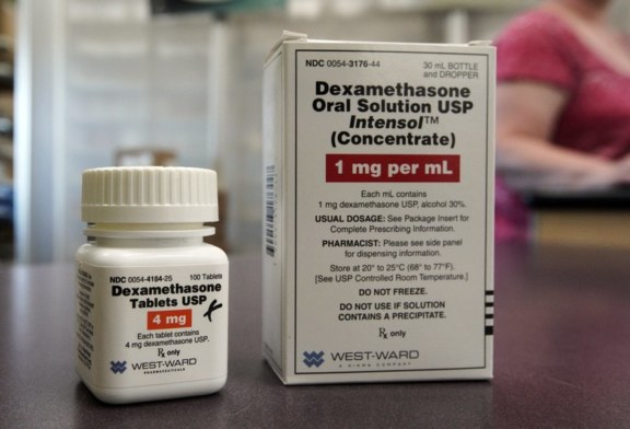 Estudo: Esteróides reduzem o risco de morte em pacientes graves com coronavírus