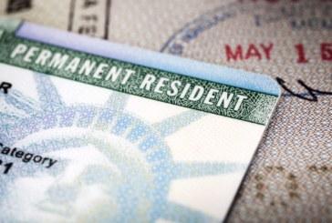EUA concede 55 mil green cards para o ano fiscal de 2021