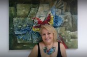 Artista brasileira presta tributo a George Floyd