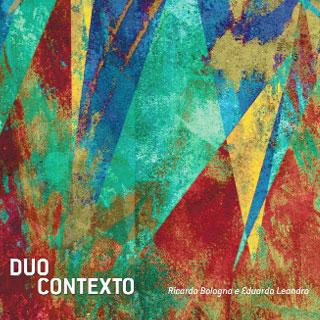 A percussão do Duo Contexto