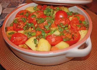 Legumes à moda marroquina